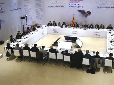 Reunió de la candidatura Barcelona-Pirineus