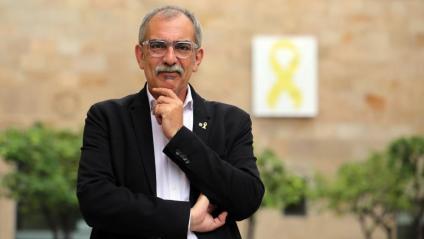 Pau Villòria, comissionat per al Desplegament de l'Autogovern, dimecres, a la Generalitat