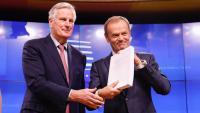 Cimera extraordinària europea el 25 de novembre per donar llum verda al principi d'acord del Brexit