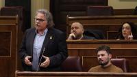 El diputat Tardà intervenint dimecres al Congrés
