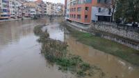 El riu Onyar al seu pas per Girona