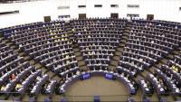 Imatge del ple del Parlament Europeu
