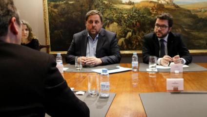 Aragonès té el repte de tornar a aprovar uns pressupostos, que podran tenir més despesa que els  de Junqueras el 2017, quan ell era secretari d'Economia