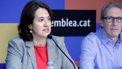 Elisenda Paluzié en una compareixença de premsa recent