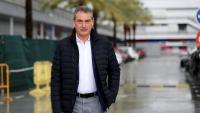 Pep Segura a la ciutat esportiva Joan Gamper