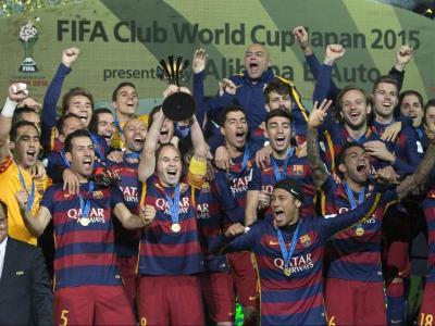 El club blaugrana va guanyar el seu tercer mundial de clubs el desembre del 2015, a Yokohama