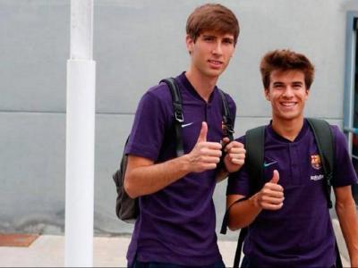 Miranda i Riqui Puig van destacar en l'última gira d'estiu pels Estats Units i la seva presència en els entrenaments del primer equip blaugrana és habitual
