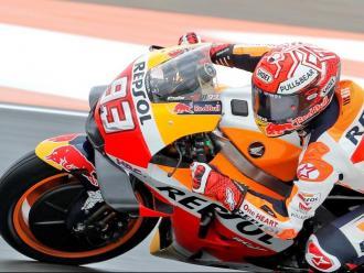 Márquez, líder de la combinada de Moto GP