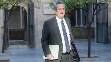 Foto d'arxiu del conseller Joaquim Forn al Palau de la Generalitat