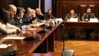 Constitució de la comissió de Reforma del Reglament del Parlament, ahir