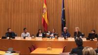 Portabella, Oliva, Díez, Pastor, Carceller, Rey i Guardino, ahir, en l'homenatge a Oliva