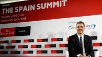 El president del govern espanyol, Pedro Sánchez, a l'acte celebrat aMadrid