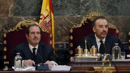 Martínez Arrieta i Marchena, al Tribunal Suprem, on el conservador continuarà presidint la sala segona i també el tribunal de l'1-O
