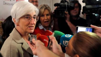 La fiscalia general de l'Estat, María Jesús Segarra