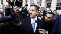 L'exadvocat de Trump Michael Cohen surt del tribunal on es va declarar culpable