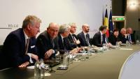 El govern belga es reuneix després de la sortida de la N-VA, a Brussel·les