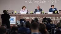 Imatge de la trobada a Marràqueix celebrada aquest dilluns