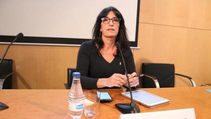 La periodista Pilar Calvo fa de portaveu dels presos polítics en vaga de fam