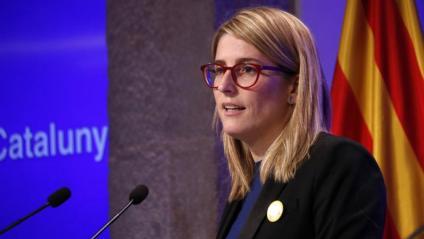 La consellera i la portaveu de l'executiu, Elsa Artadi