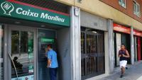 Oficina de l'antiga Caixa Manlleu,  a Barcelona