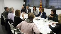 Imatge del Plenari del Consorci del Museu de Lleida Diocesà i Comarcal que s'ha celebrat aquest dimarts