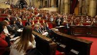 Sessió del Parlament de Catalunya