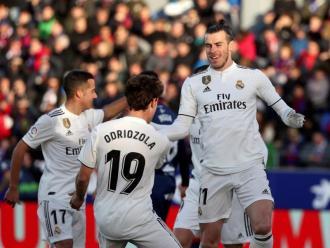 Gareth Bale celebrant el gol