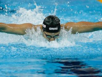 Daiya Seto en els 200 m papallona del mundial