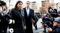 L'exadvocat personal de Donald Trump, a la seva arribada al Tribunal Federal dels Estats Units a Nova York