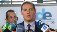 El líder de Ciutadans, Albert Rivera, a Brusel·les