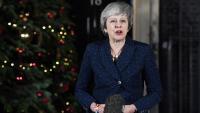 La primera ministra britànica va fer una declaració aquest dimecres després de superar la moció de confiança a què l'havien obligat els diputats del seu partit