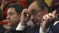 Els presidents de Castella-La Manxa, Emiliano García Page –esquerra–, i Aragó, Javier Lambán
