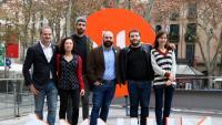 Jordi Cabré, Maite Carranza, Víctor García Tur, Marcel Mauri, Carles Rebassa i Núria Franquet