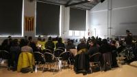 Consell polític de la CUP celebrat a Artés