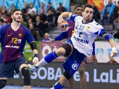 Partit de lliga entre el Barça i el Granollers