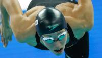 Jessica Vall en les eliminatòries dels 200 m braça