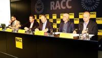 Imatge de la presentació de l'estudi del RACC aquest matí