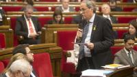 Sessió al Parlament de Catalunya
