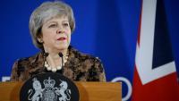 La primera Ministra britànica Theresa May