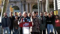 Membres de la Comissió del 21-D aquest matí a Barcelona