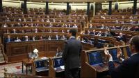 El líder del PP, Pablo Casado, al Congrés dels Diputats