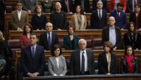 Minut de silenci al Congrés per l'assassinat de Laura Luelmo