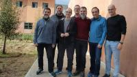 Imatge dels presos polítics homes a la presó de Lledoners