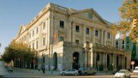 El majestuós edifici de la Casa Llotja de Mar, seu històrica de la Cambra de Comerç de Barcelona
