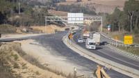 El tram d'obres de l'N-II nord que ara el govern espanyol diu que s'acabaran en breu