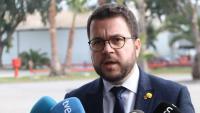 """Aragonès titlla d'""""injustificades"""" i """"insòlites"""" les detencions de la policia espanyola"""