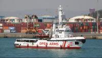 L'Open Arms està retingut a Barcelona per ordre de la Capitania Marítima