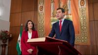El nou president de la Junta d'Andalusia, Juanma Moreno
