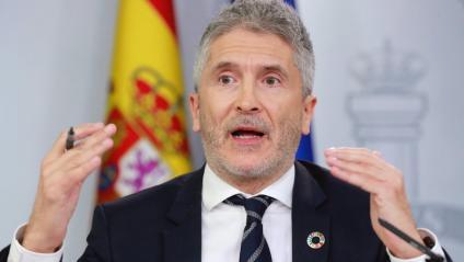 El ministre d'Interior, Fernado Grande-Marlaska