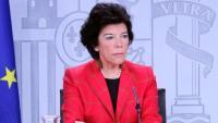 La ministra portaveu, Isabel Celaá